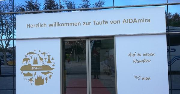 AIDAmira - Erste Eindrücke - Teil 1