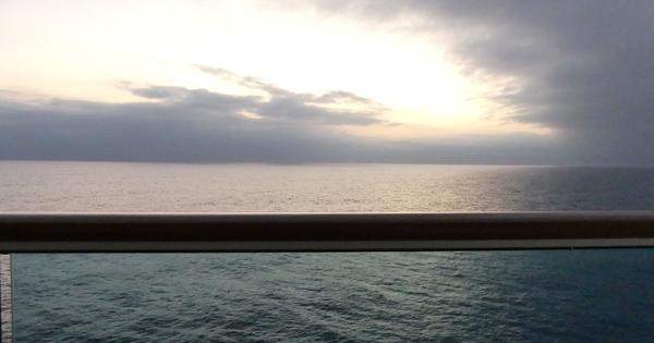 Tag 5 - Unser erster Seetag auf der Norwegian Sun