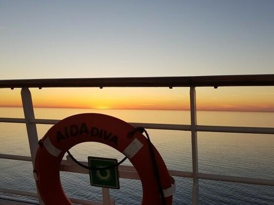 Letzer Abend an Bord