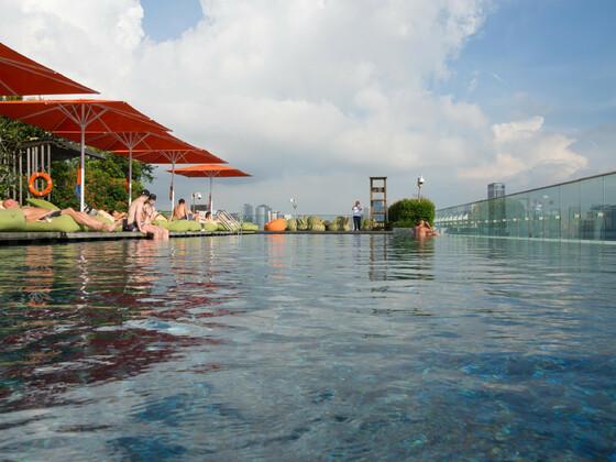 Hotel Jen Orchard Road Singapur Pool