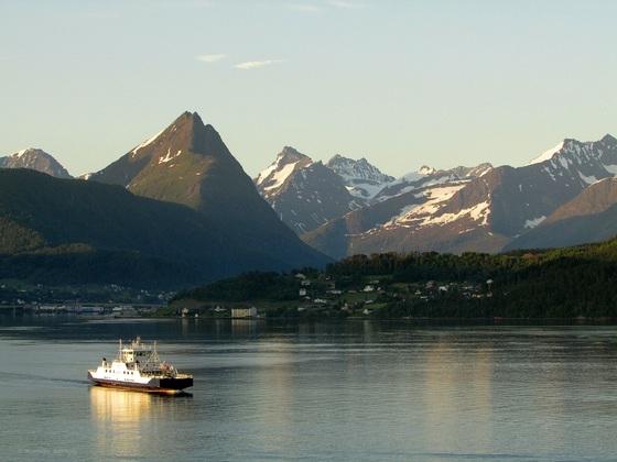 Die Friedlichkeit der Fjorde