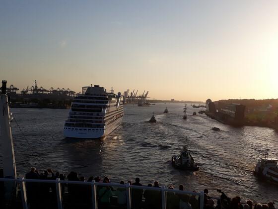 auf der vita beim Hafengeburtstag 2019