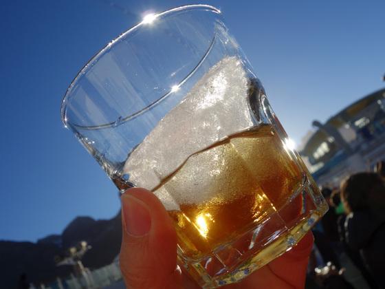 Whiskey on the (Gletscher) Rocks