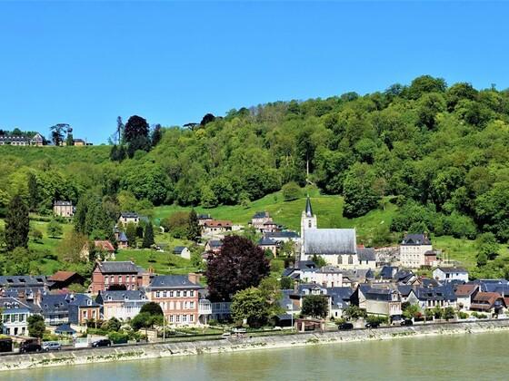 19.09.2020 heute wären wir mit der AIDAvita auf der Seine nach Rouen unterwegs gewesen