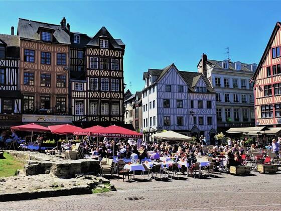20.09.2020 heute wären wir mit der AIDAvita in Rouen gewesen
