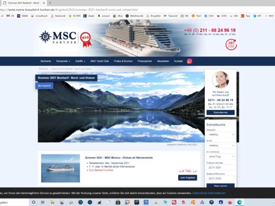 Norwegen mit MSC