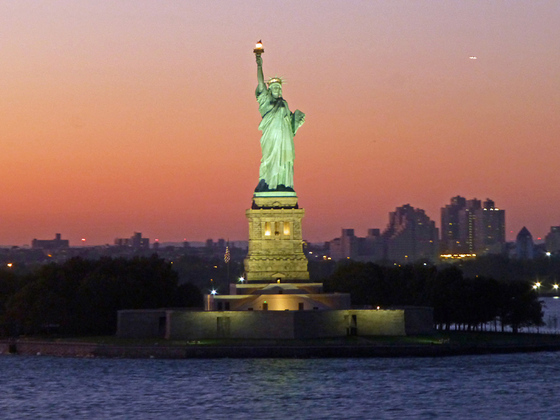 Aschied aus New York