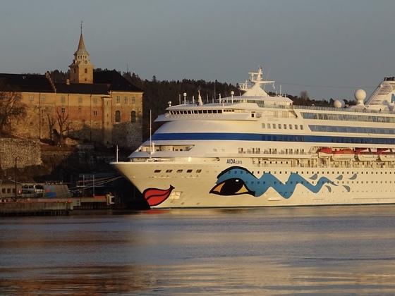 Oslo mit AIDAcara