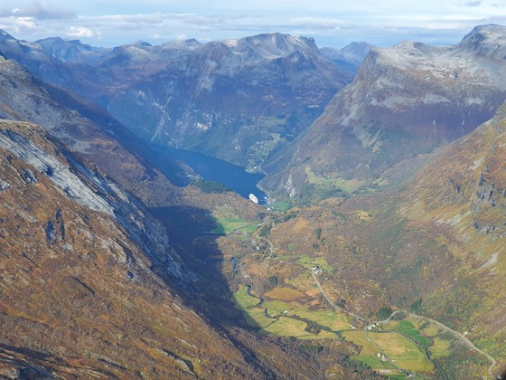 Blick vom Dalsnibba am 06.10.21