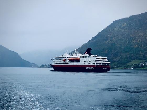Hurtigruten MS Nordkapp @ Norangsfjorden