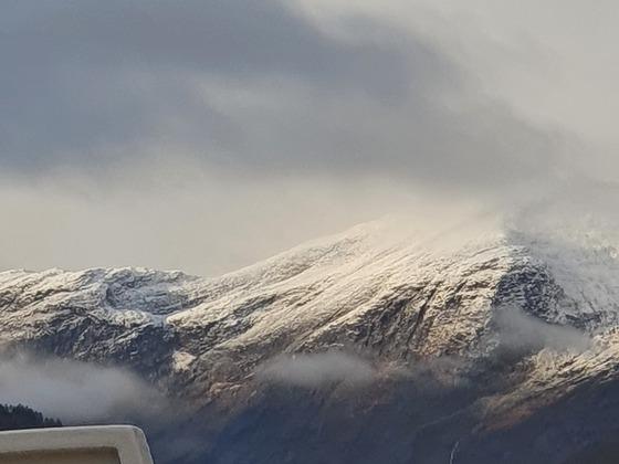 Geiranger Fjord im Oktober