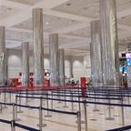 Ankunftterminal vom Dubai Airport DXB