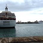 Aidavita im Hafen von Cadiz