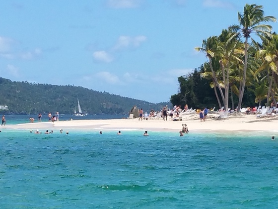 Bacardi Insel (Cayo Levantado).