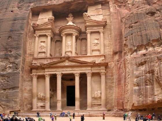 "Petra, das ""Schatzhaus des Pharao"" oder ""Khazne al-Firaun"""