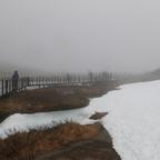Der erste Besuch auf dem Trollstigen: Nebel, nass, kalt