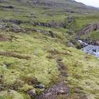 Wanderweg im mittleren Abschnitt