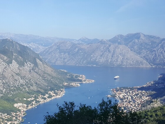 Ausblick auf Kotor Montenegro