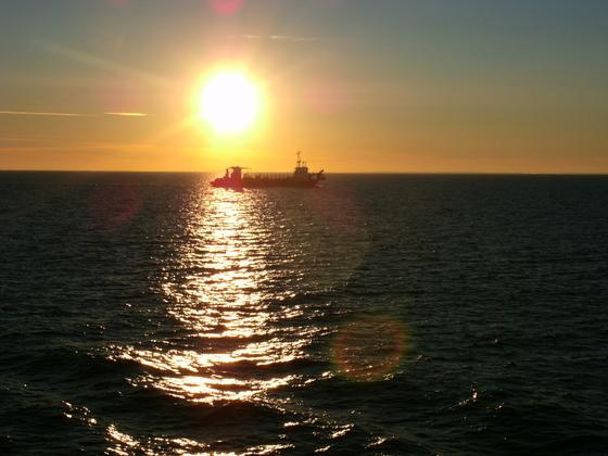 Begegnung auf See
