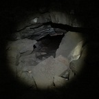 Island Höhlenwanderung, da ging es durch
