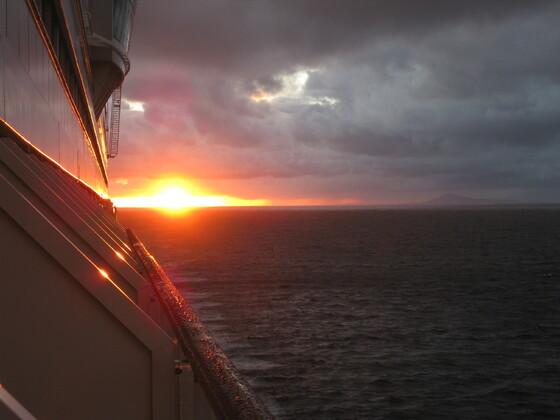Karibische Momente - Feuer am Horizont