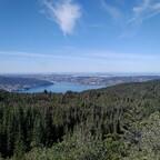 Blick auf die Nordsee nahe Rundemanen in Bergen