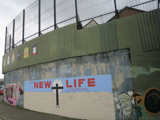 """Die """"Belfaster Mauer"""""""