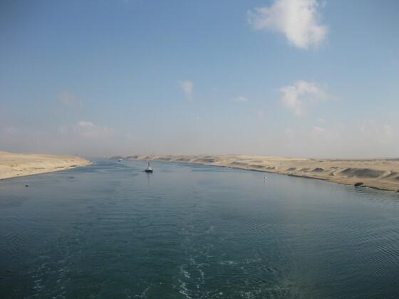 Suezkanal AIDAblu 2012