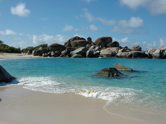 """Devils Bay im Nationalpark """"The Bath"""" auf Virgin Gorda, British Virgin Islands"""