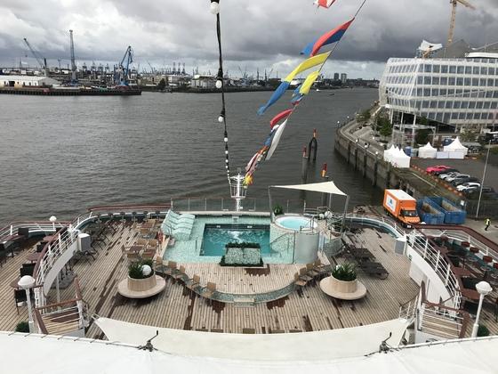 Schiffsbesichtigung Amadea