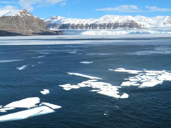 Tempelfjord, Spitzbergen mit Aidaaura