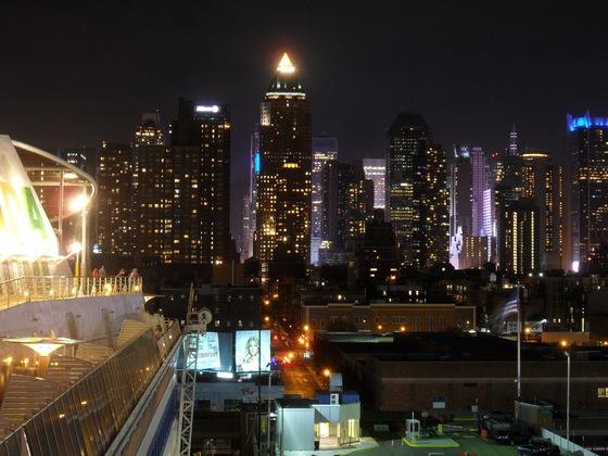 AIDAdiva HH-NY 2016, New York by night