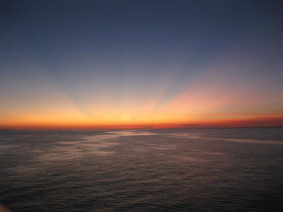 Sunset im Golf von Thailand