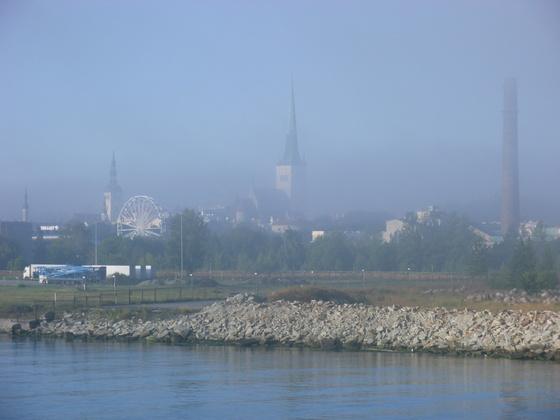 Tallinn - in Nebel gehüllt