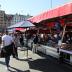Fischmarkt am Hafen