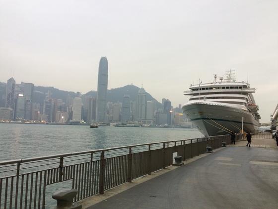 Artania in Hongkong