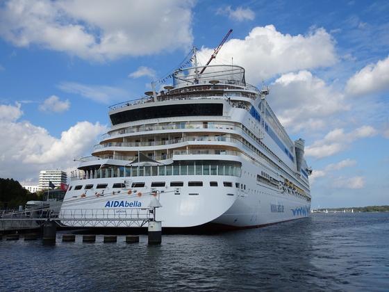 Start im Kieler Hafen am 9.9.2018