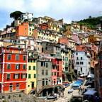 Riomaggiore - Cinque Terre Nationalpark / Italien