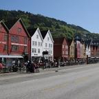 Das alte Bryggen, so hieß Bergen zur Zeit der Hanse