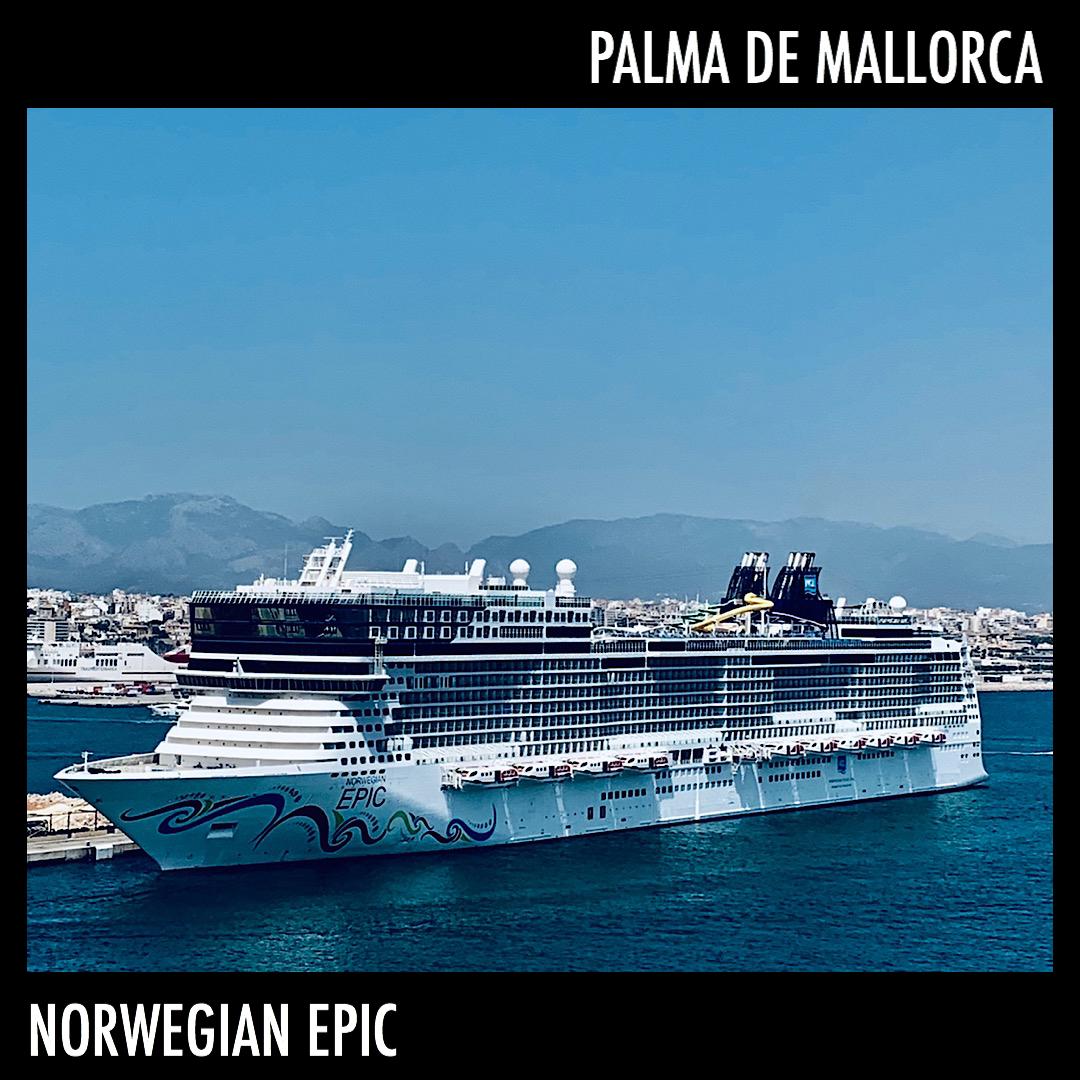 NCL - Norwegian Epic @ Palma de Mallorca