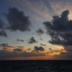 Sonnenuntergang auf dem Atlantik
