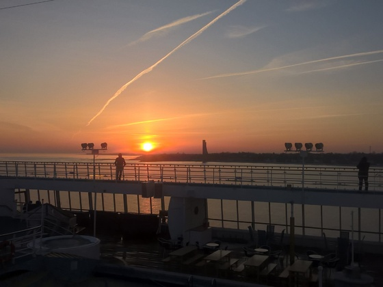 Einlaufen in Kiel - 08.04.2018