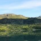 Auf dem Weg nach Skjolden, Norwegen