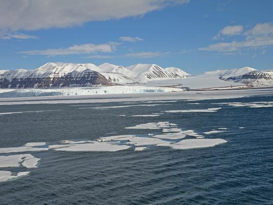 Tempelfjord/Spitzbergen