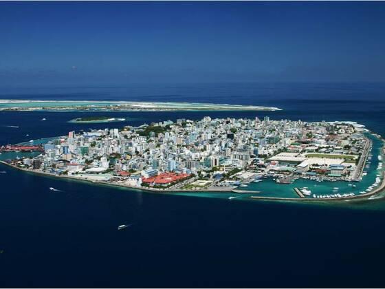 Male auf den Malediven