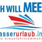 Community-Treff 'ICH WILL MEER' powered by wasserurlaub.info auf der KREUZFAHRTWELT HAMBURG