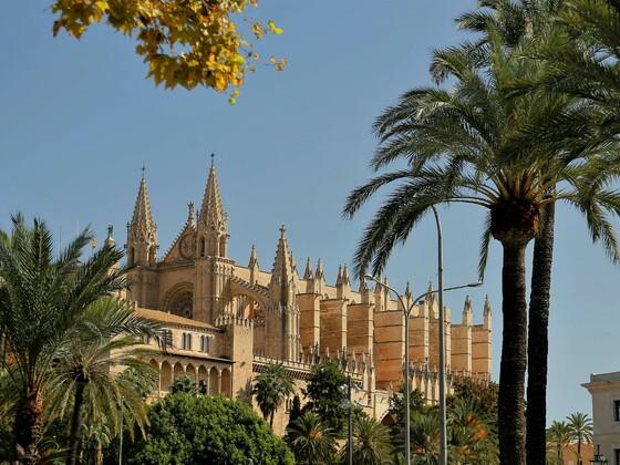Kathedrale von Palma Okt.2017