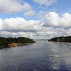 25_Stockholm - Anfahrt durch die Schären
