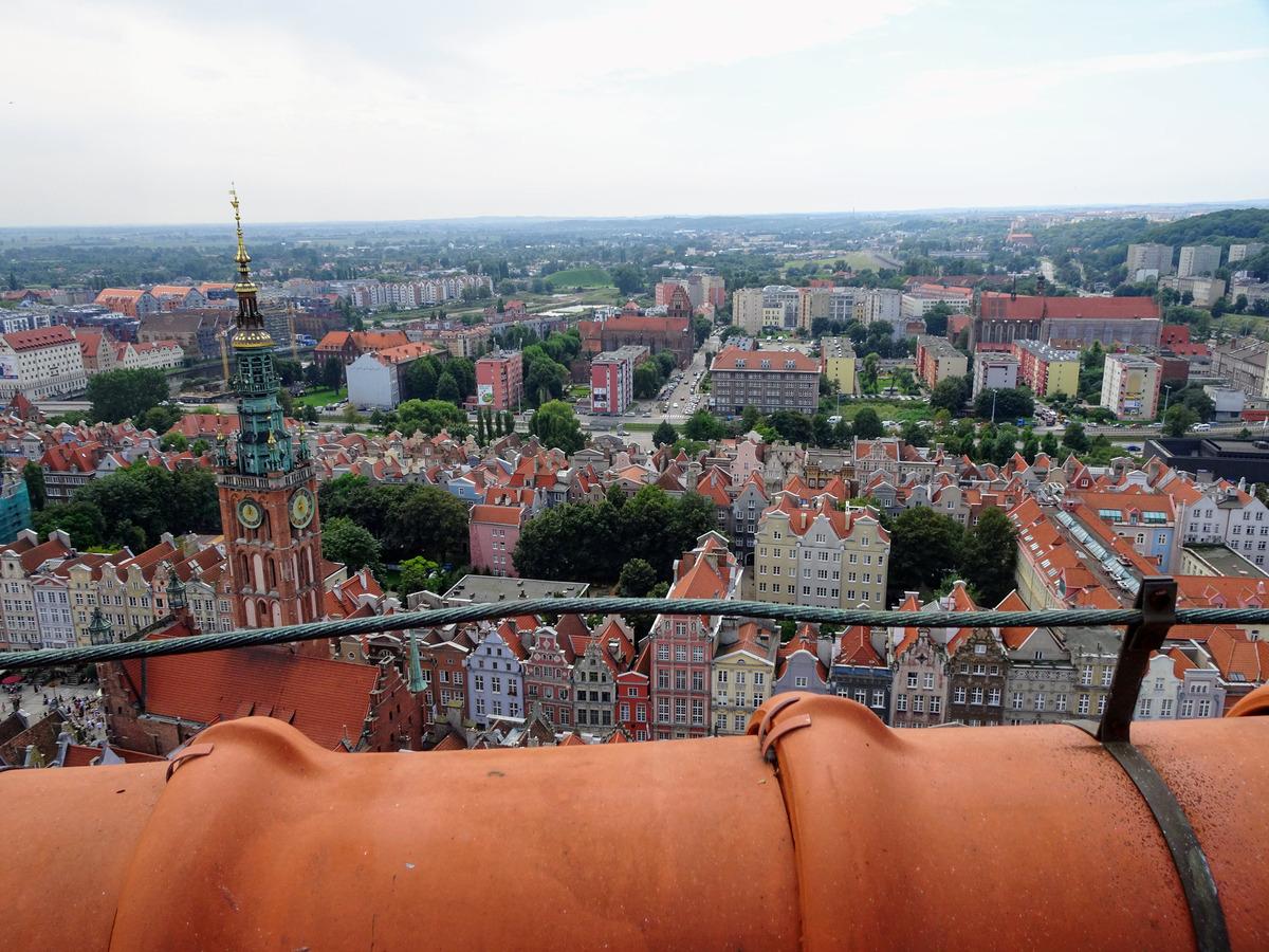 40_Danzig - Auf dem Dach der Marienkirche