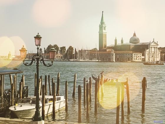 Venezianische Abendstimmung